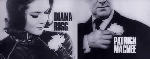 Avengers Diana Rigg Patrick Macneee
