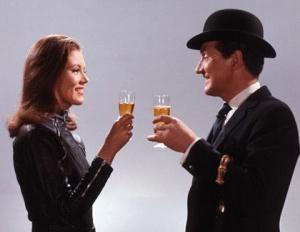 The Avenegers Mrs. Peel and John Steed