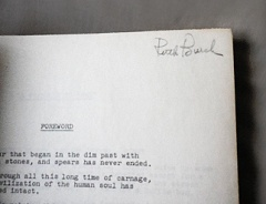 Ruth Burch name in Script