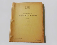 Script of A fare Wells To Arms from Selznick International