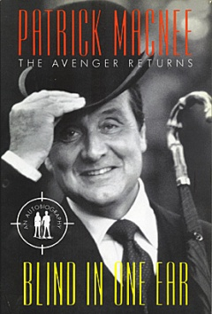 Patrick Macnee Autobiograpy Book Cover