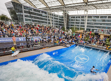"Final of 5th European Championship in ""Stationary Wave Riding"