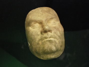 Martin Luther Death Mask in Halle