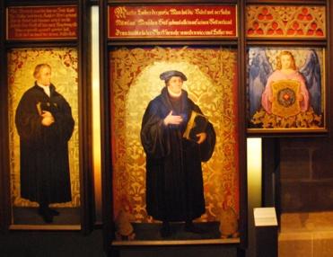 Martin Luther Panels at Veste Coburg